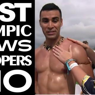 Najčudniji trenuci tokom izveštavanja o olimpijadi (video)